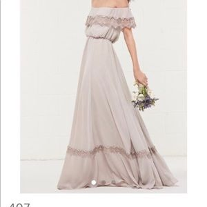 Watters Size 00 Bridesmaid dress